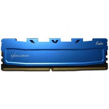 Модуль памяти для компьютера DDR4 8GB 2133 MHz Blue Kudos eXceleram (EKBLUE4082115A)