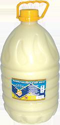 МОЛОКО ЦЕЛЬНОЕ СГУЩЕННОЕ С САХАРОМ 8,5% (ГОСТ) ПЕТ ПЛЯШКА 7.8 кг Первомайский МКК