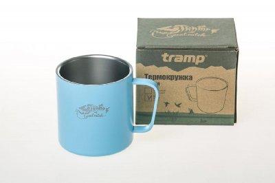 Темокружка Tramp 375 мл блакитний TRC-098 (TRC-098-blue)