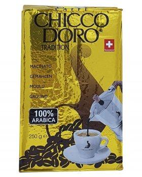 Кофе молотый Chicco D'oro Тradition 100% arabica 250 г (52119)