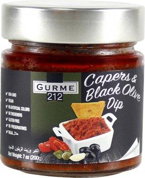 Каперс и черная оливка Gurme 212 Capers and black olive dipe 255 г (191822002355)