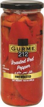 Перец Gurme 212 Fire Roasted Red Pepper жареный на костре 500 г (191822000658)
