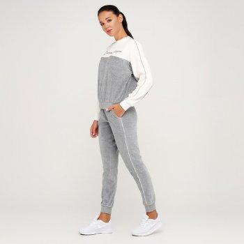 Жіночі спортивні штани Champion Rib Cuff Pants Сірий (cha113260-OXGM)