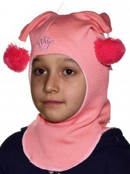Шлем шапка Be easy 50-53 см Персиковый (18DH01D-P2-922)