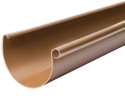 Жолоб BRYZA 100 мм / 3 м Коричневий (61-012)