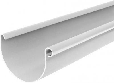 Жолоб BRYZA 75 мм / 3 м Білий (60-011)