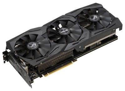 Asus PCI-Ex GeForce RTX 2060 ROG Strix O6G Gaming OC 6GB GDDR6 (192bit) (1860/14000) (2 x DisplayPort, 2 x HDMI 2.0 b) (ROG-STRIX-RTX2060-O6G-GAMING)