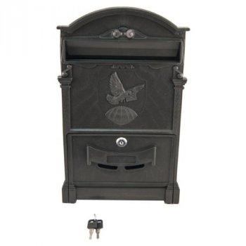 Почтовый ящик Vita голубь (черный) (PO-0020)