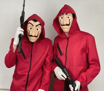 Комплект (комбинезон + маска + перчатки) Seta Decor 20-932 170-185 см Красный (2000048971018)