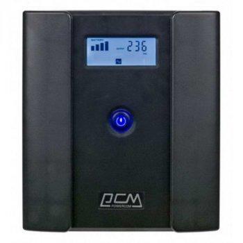ДБЖ Powercom RPT-2000AP, 4 x євро, USB, LCD (00210226)