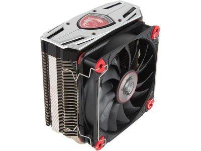 Кулер процесорний MSI Core Frozr L, Intel: 2011-3, 2011,1150, 1151, 1155, 1156, 1366, 775 AMD: FM1/FM2/AM2/AM2+/AM3/AM3+/AM4, 155х140х84 мм, 4-pin
