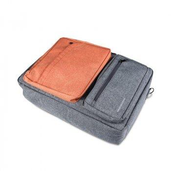 "Рюкзак-сумка для ноутбука Modecom Reno 15.6"" Gray/Orange (TOR-MC-RENO-ORG)"