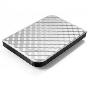 "HDD ext 2.5"" USB 2.0 TB Verbatim Store n Go Silver (53198)"