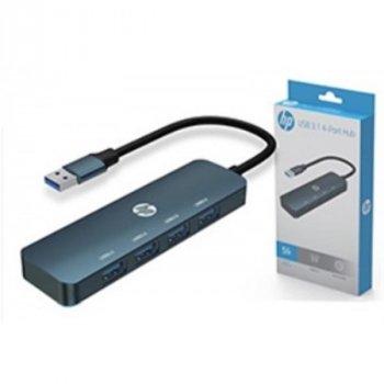 Концентратор USB3.0 HP Black (DHC-CT100) 4хUSB3.0