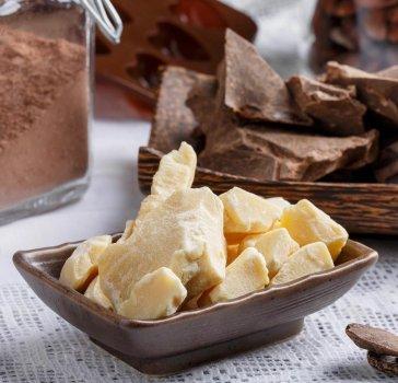 Какао масло PARIGON Сocoa натуральное недезодорированное 1 кг