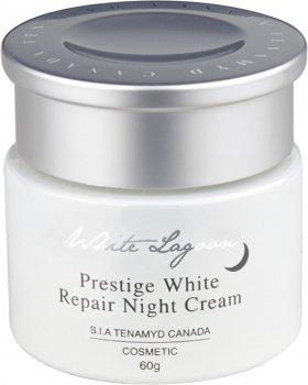 Интенсивно отбеливающий ночной крем для кожи с пигментацией Tenamyd Canada Prestige White Repair Night Cream 60 г (8807755460835)