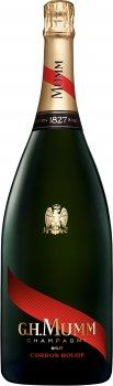 Шампанське Mumm Cordon Rouge Brut біле брют 1.5 л 12% (3043700103807)