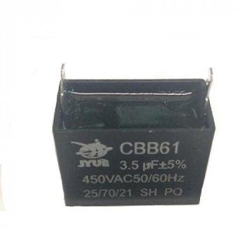Конденсатор для кондиціонерів 3.5 uF 450V CBB61