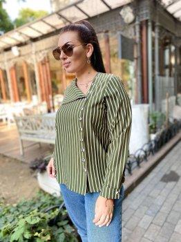 Блуза DNKA д41327.1 Хакі