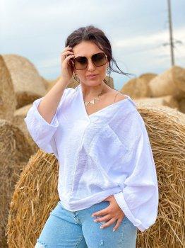 Блуза DNKA с41491/1 Белая