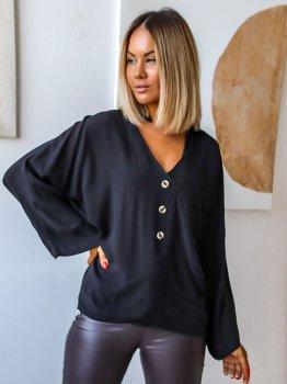 Блуза DNKA с41500 Черная