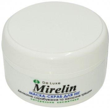 Маска-скраб для ног Mirelin Деликатное скрабирование и заживления трещин / Лён (MSL50)