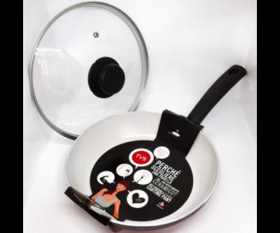 Сковорода TVS eco cook 24 см + крышка