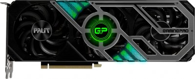 Palit PCI-Ex GeForce RTX 3070 GamingPro OC 8GB GDDR6 (256bit) (1500/14000) (3 x DisplayPort, 1 x HDMI) (NE63070S19P2-1041A)