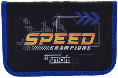 Пенал Smart Speed Champions твердий одинарний без клапана 1 відділення Різнобарвний (532065)