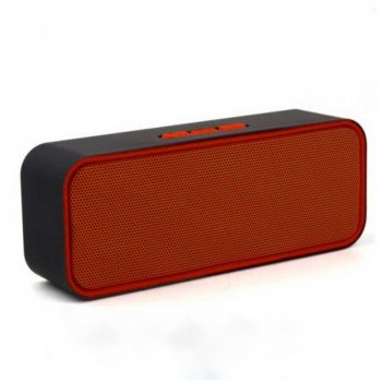 Портативная Bluetooth Колонка SС-3 II Red (24645)