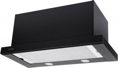 Витяжка VENTOLUX GARDA 60 BK (1100) SMD LED