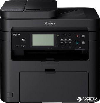 Canon i-SENSYS MF237w Wi-Fi, ethernet, fax (1418C162AA/418C170AA) Bundle: + 2 картриджі Canon 737
