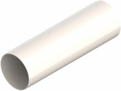 Труба водостічна Ines 80 мм / 3 м Біла (67-101)