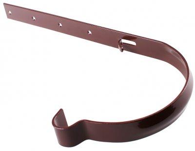 Кронштейн жолоба Profil металевий 130 Коричневий (5906775630204)