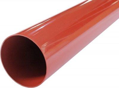 Труба водостічна Profil 100/3 м Цегляна (5906775631874)