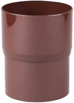 Муфта водостічної труби Profil 90 Коричневий (5906775631133)