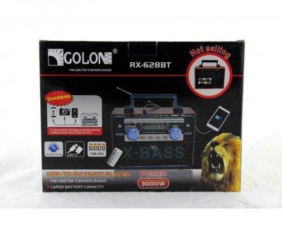 Радиоприемник портативный Golon RX-628BT