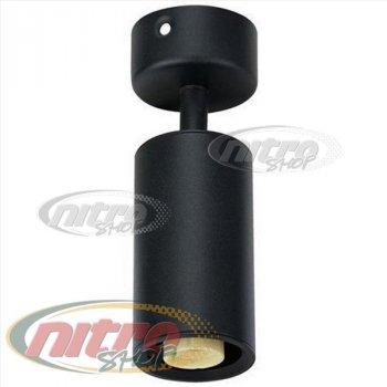 Світильник Спот світлодіодний/галогенний настінний стельовий Horoz Electric LOZAN макс. 50Вт 220В MR16/GU10 Чорний (016-001-0001)