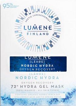 Кислородная увлажняющая и восстанавливающая маска Lumene Oxygen Recovery 72h Hydra Gel Mask