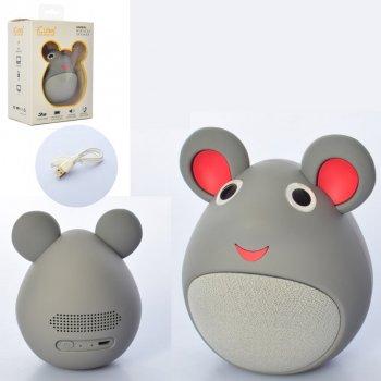 Колонка ICUTES музична іграшка мишка MB-M919 (MB-M919(Grey))