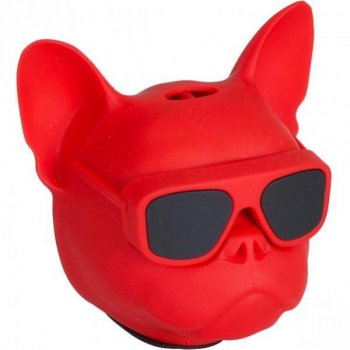 Портативна Колонка METR+ Голова собаки 597-5 (Червоний)