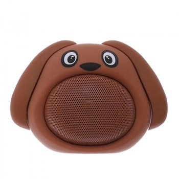 Колонка ICUTES музична іграшка песик MB-M818 (MB-M818(Brown))