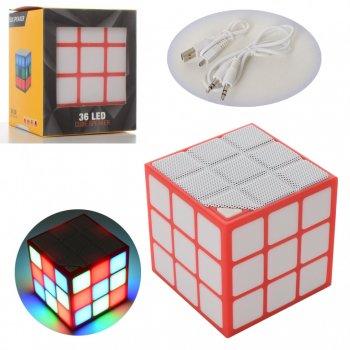 Колонка ICUTES музична іграшка куб SB72
