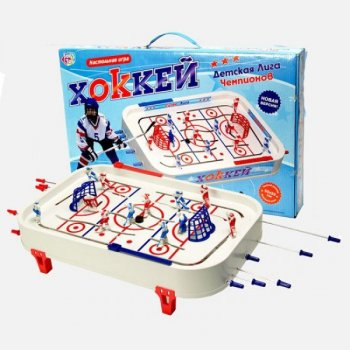 Настільна гра Play Smart «Хокей» дитяча Ліга чемпіонів 0700