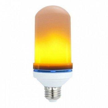 Лампа інтер'єрна з ефектом полум'я вогню LED Flame Bulb E27 CHR 109-10824239