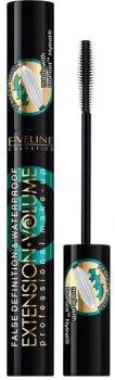 Упаковка туші для вій Eveline Extension Volume Professional Make-Up 100% водостійка 10 мл х 12 шт. (5907609337214)