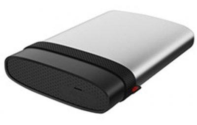 """Жорстку диск зовнішній SiliconPower USB 3.0 Armor A85 1TB 2,5"""" Сріблястий (SP010TBPHDA85S3S)"""