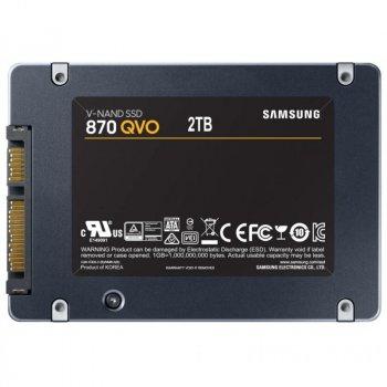 """Накопичувач SSD 2.5"""" 2TB Samsung (MZ-77Q2T0BW)"""