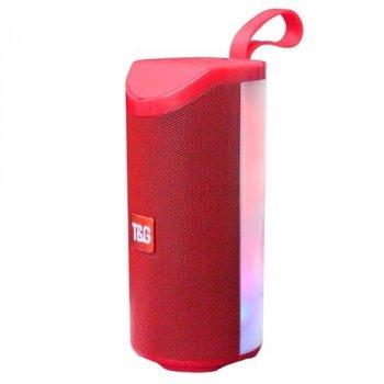 Bluetooth-колонка T-Sound TG169, c функцией speakerphone, радио, Red