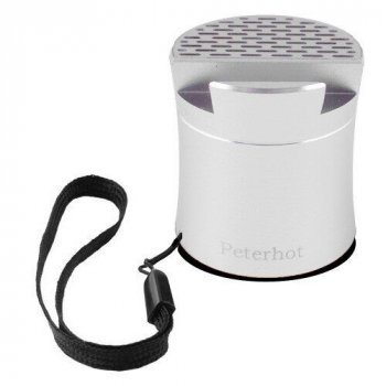 Bluetooth-колонка музичний шейкер Peterhot PTH-307 Сіра